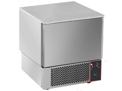 Stainless Steel Blast Chiller/Shock Freezer for 5 pans GN1/1 or 600x400 mm pans