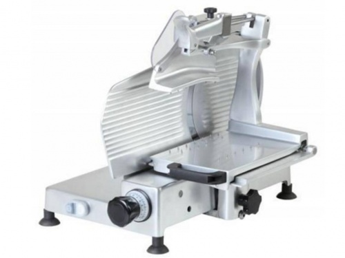Vertical slicer for cold cuts with blade 300 mm, 330 mm, 350 mm, 370 mm, 380 mm, norma CE