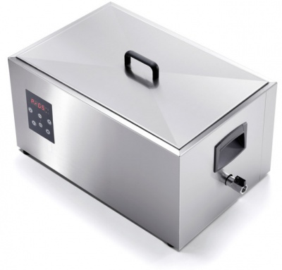 Low temperature cooking device with  water static heating with tap 1/1