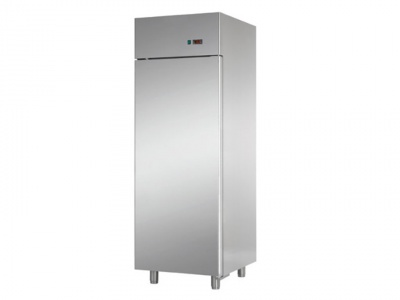 GN 2/1 monoblock refrigerator cabinet in stainless steel at normal temperature, capacity 700 lt, dim. 710x800x2100 mm