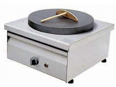 Crepe machine electric single Dimensions: Diameter 35cm