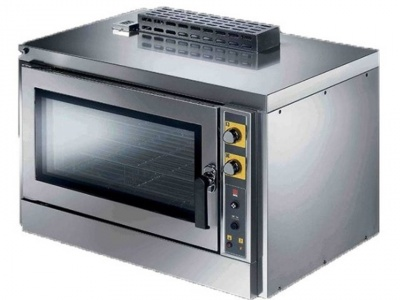 Gas convection oven with humidification,n°5 trays/grids 1/1 GN