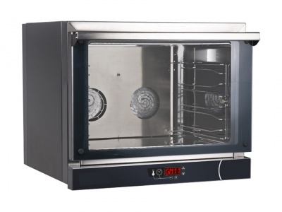 Digital convection oven, suitable for 4 pans or grids GN 1/1