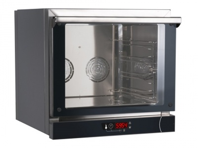 Digital convection oven, suitable for 4 pans or grids 435x350 mm or 433x322 mm