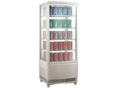 Fridge for drinks, refrigerated display for drinks 428x386x810h