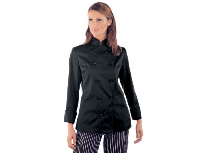 Women's chef jacket - long sleeve