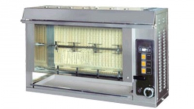 Vertical Rotisserie, chicken capacity up to 18 pieces of 1 Kg, dim.1200 x 300 x 620 h mm