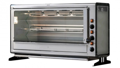 Vertical Rotisserie with tempered glass, capacity n.18 chickens, dim.1120 x 390 x 650 h mm