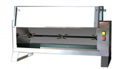 Vertical Rotisserie with tempered glass front, capacity n.4 chickens, dim.920 x 390 x 390 h mm