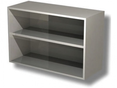 Open wall unit with 1 shelf H cm 65