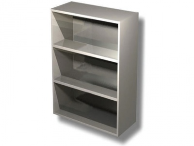 Open wall unit with 2 shelves H cm 100