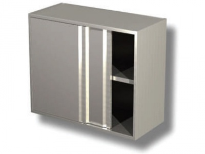 Wall cabinet with sliding doors and 1 shelf H cm 65 copia
