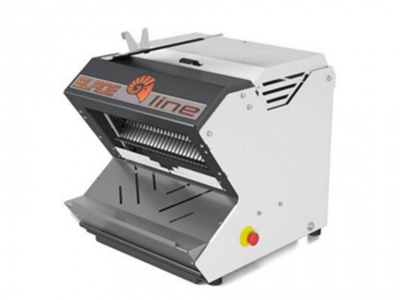 Automatic bread slicer, bench model