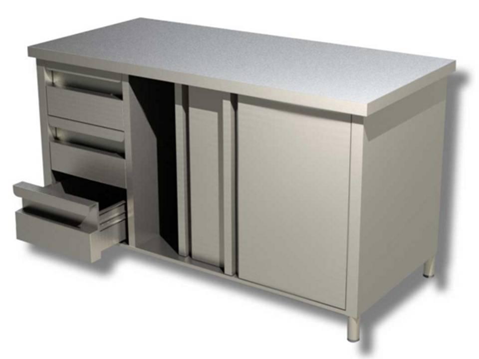 Tavolo armadiato inox ispiratore tavolo acciaio inox con annunci d