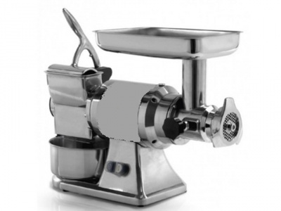 Meat Mincer Grater in stainless steel, aluminium and cast iron, dim.610x220x460 mm